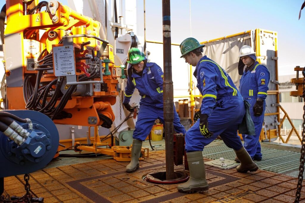 oil gas jobs in London