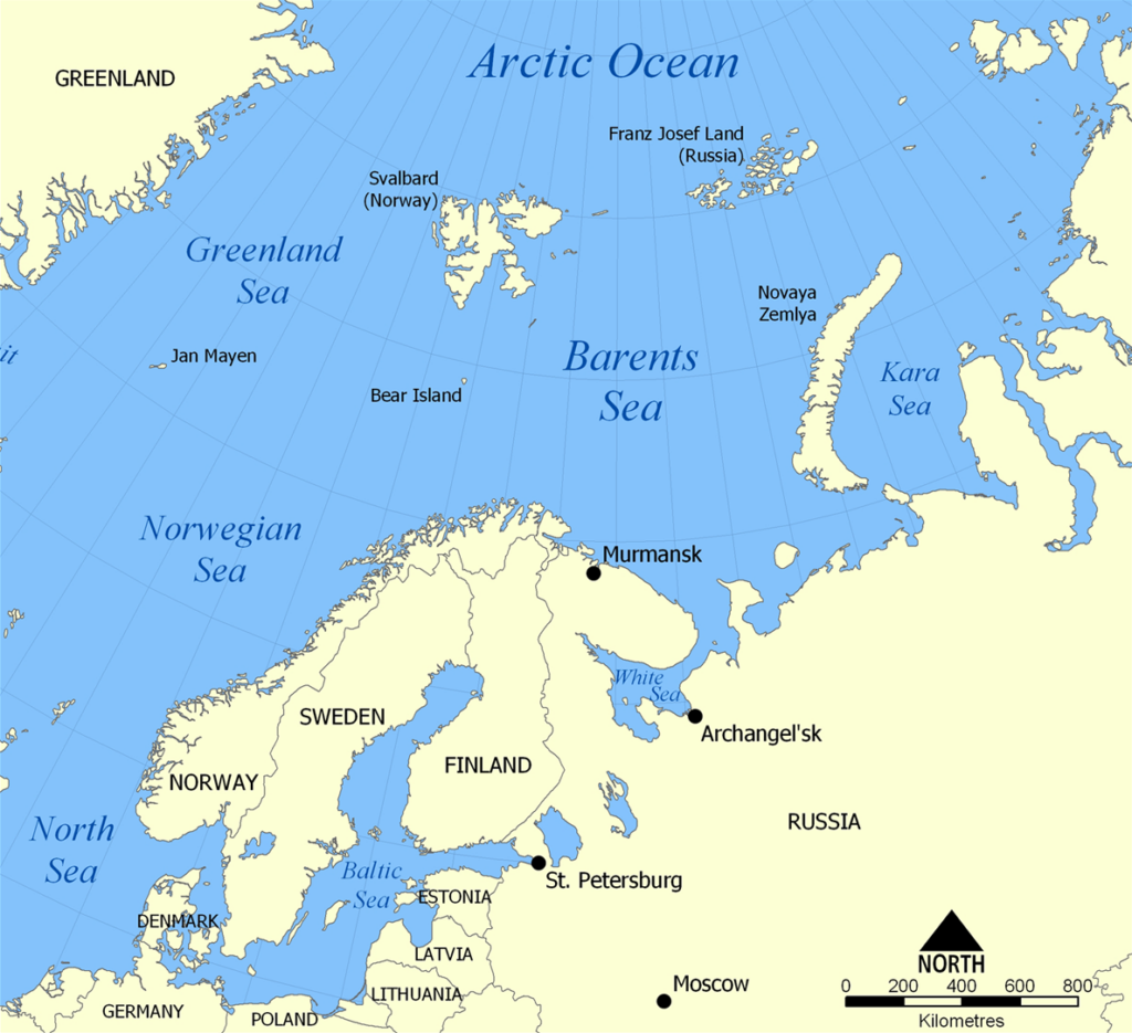Barents Sea Subsea Oil and Gas