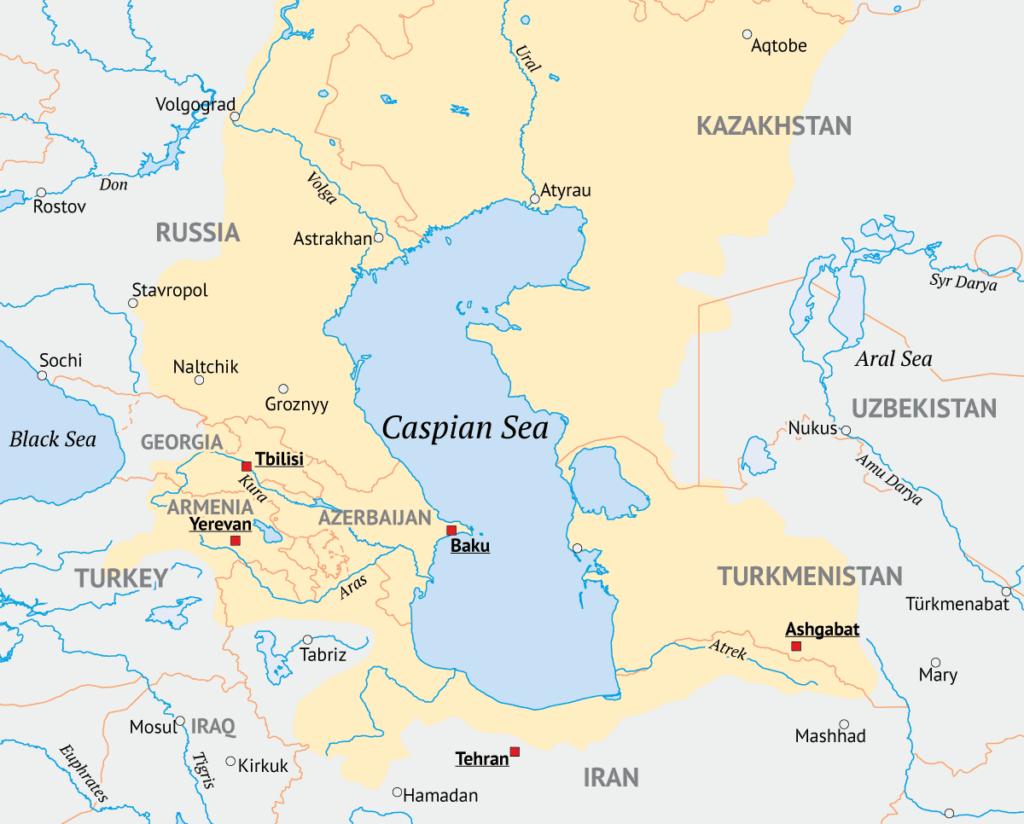 Caspian Sea Subsea Oil and Gas