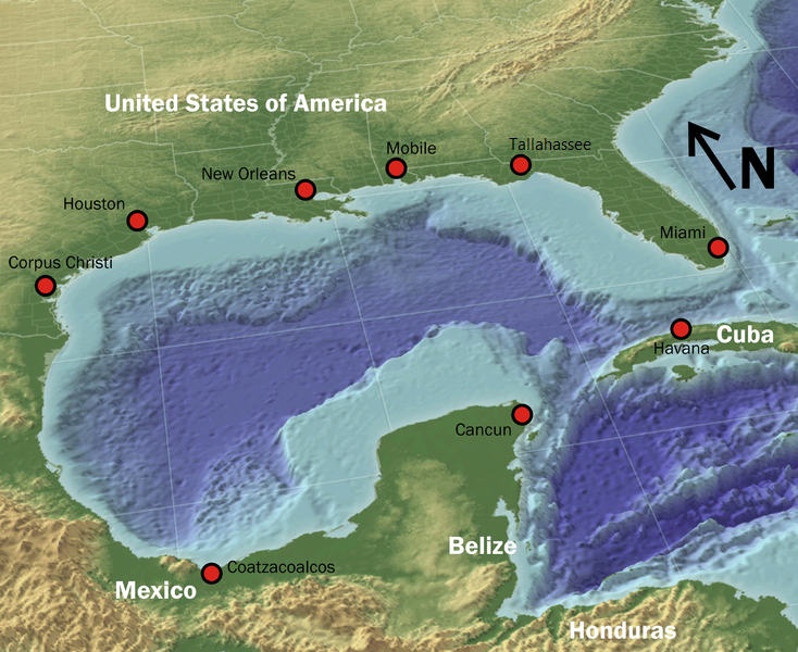 Gulf of Mexico Subsea Oil and Gas