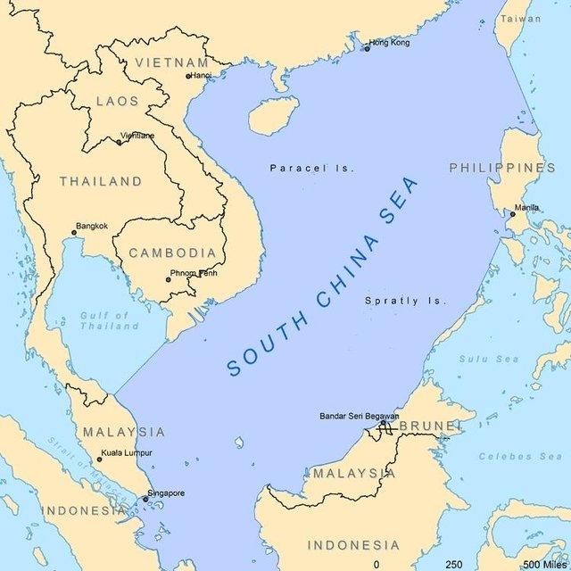 South China Sea Subsea Oil Gas