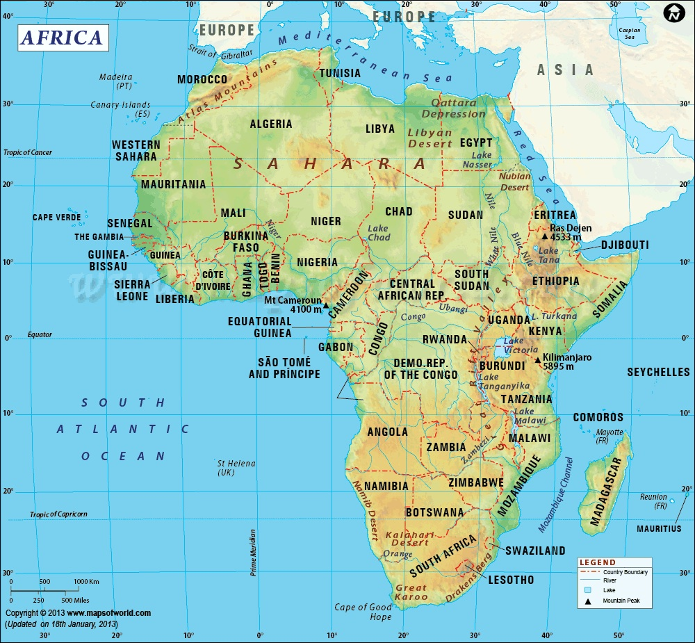 oil and gas companies in africa