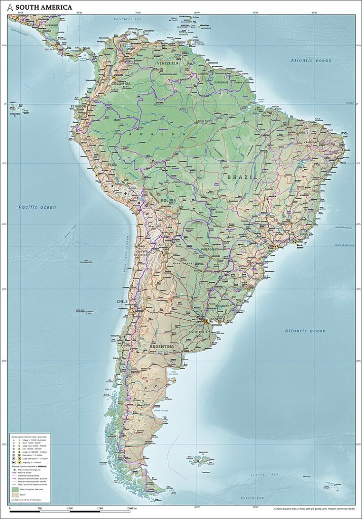 oil and gas companies in south america